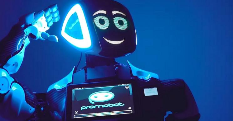 Coronavirus: 'Lightning Rod' Robot in Times Square
