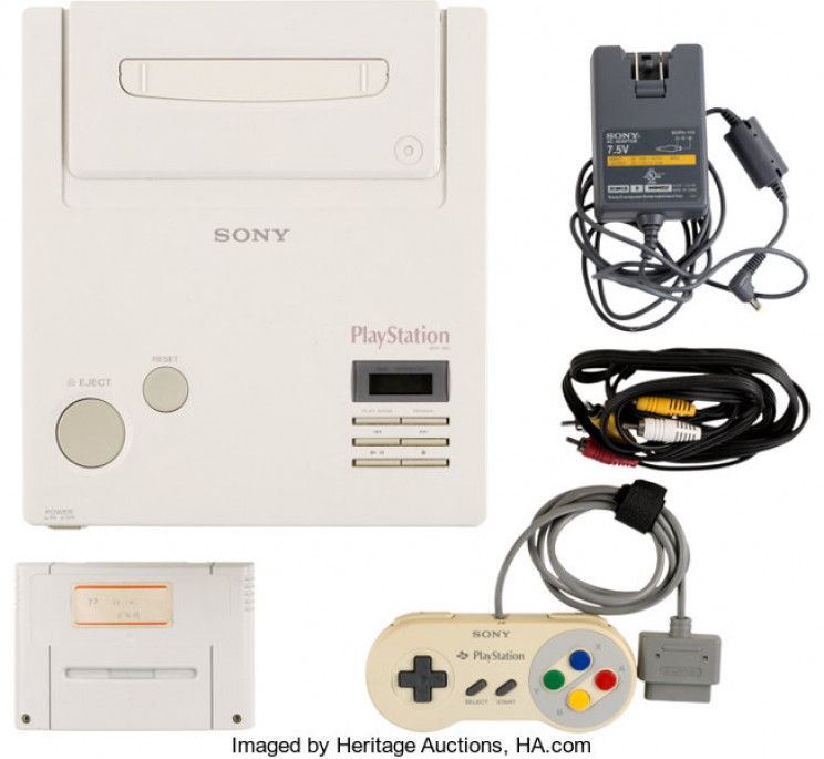 World's Rarest Console, the Nintento PlayStation, Is up For Auction