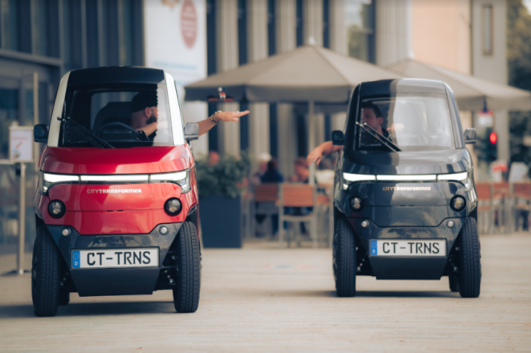 A New Electric Microcar Could Redefine Urban Mobility. By Folding?