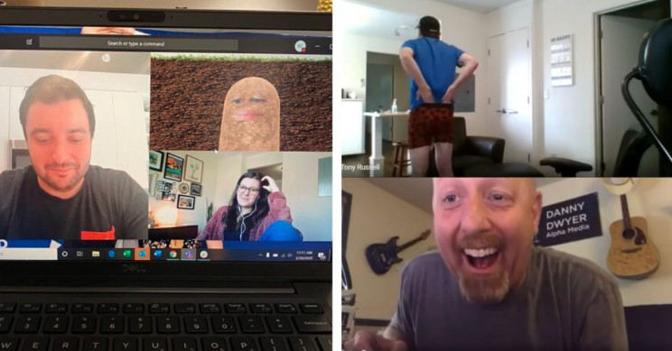 15 Side-Splitting Examples of People Failing During Video Conferences