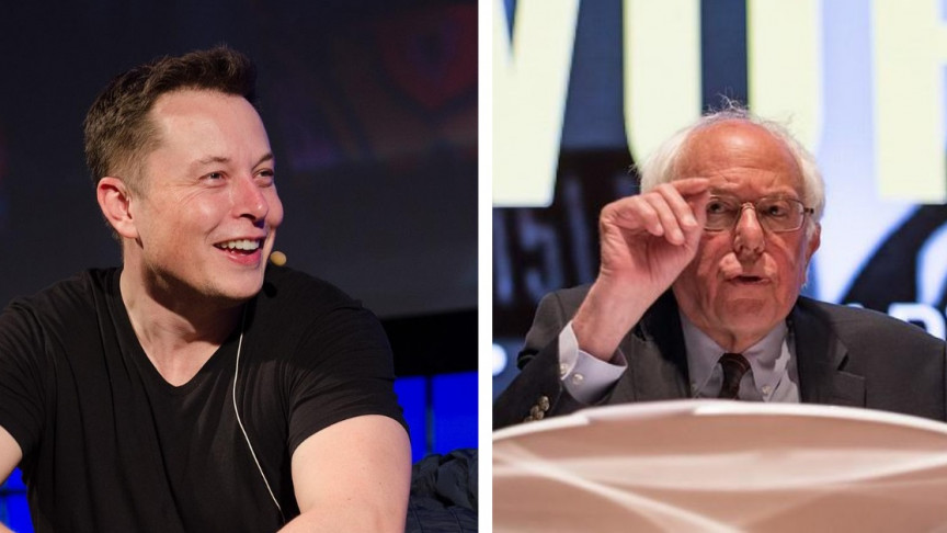 Bernie Sanders and Elon Musk Start Twitter War Over Billionaire Tax - Interesting Engineering