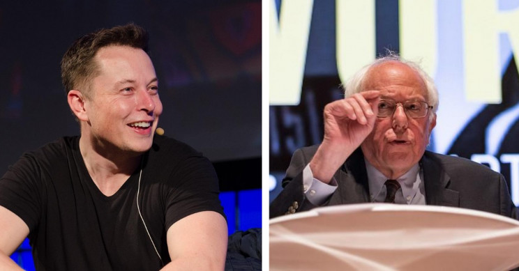 Bernie Sanders and Elon Musk Start Twitter War Over Billionaire Tax