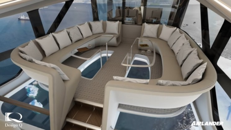 Airlander 10 lounge