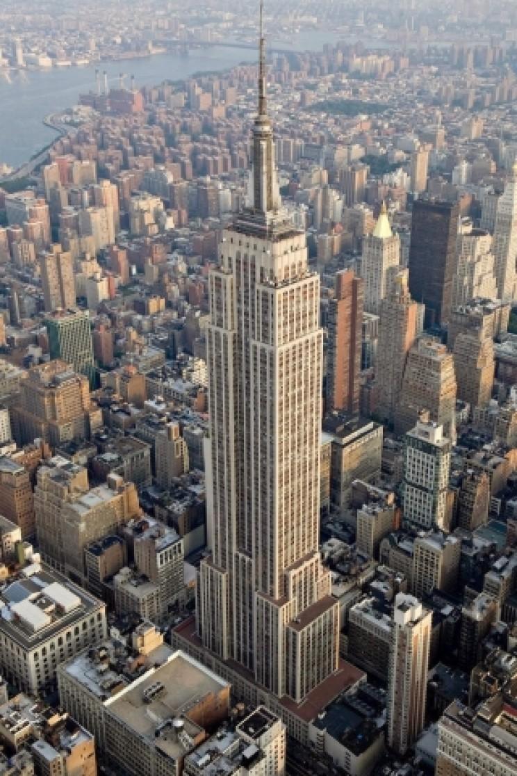 Empire State Building mast