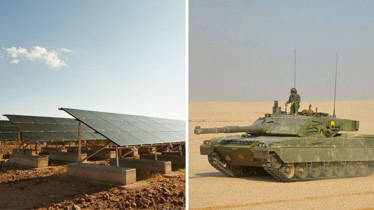 NATO May Be Planning to Build Solar Panel-Powered Tanks