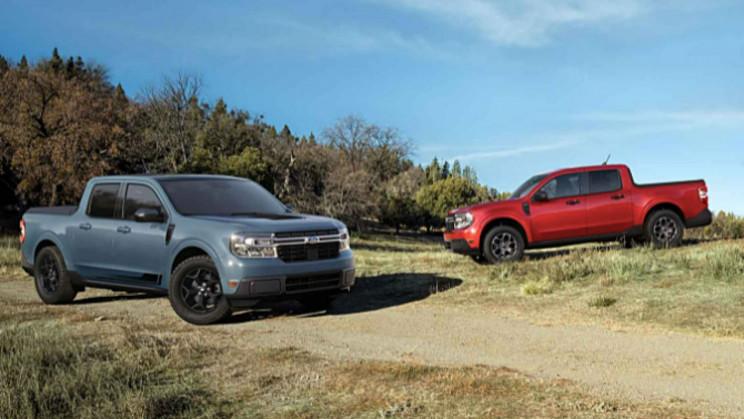 Ford Unveils First Hybrid Pickup Truck Maverick