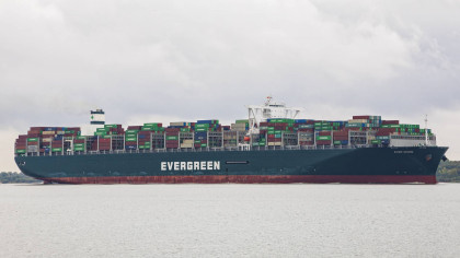 Evergreen Asked to Pay Up to $1 Billion in Compensation to Leave the Suez Canal