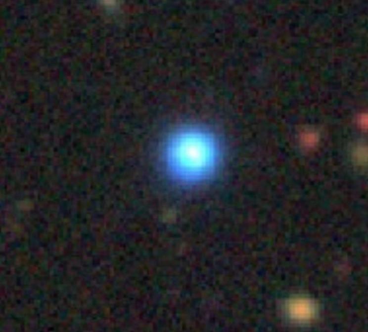 Blue Cold Quasar