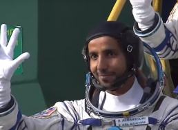 The First Emirati Astronaut Enters the ISS, Makes History for UAE