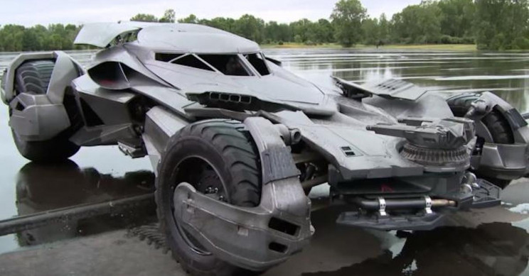 """Batmobile"" Sold for $850,000 in Russia"