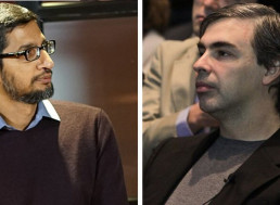 Google Founders Larry Page and Sergey Brin Step down from Alphabet, Sundar Pichai Takes Over