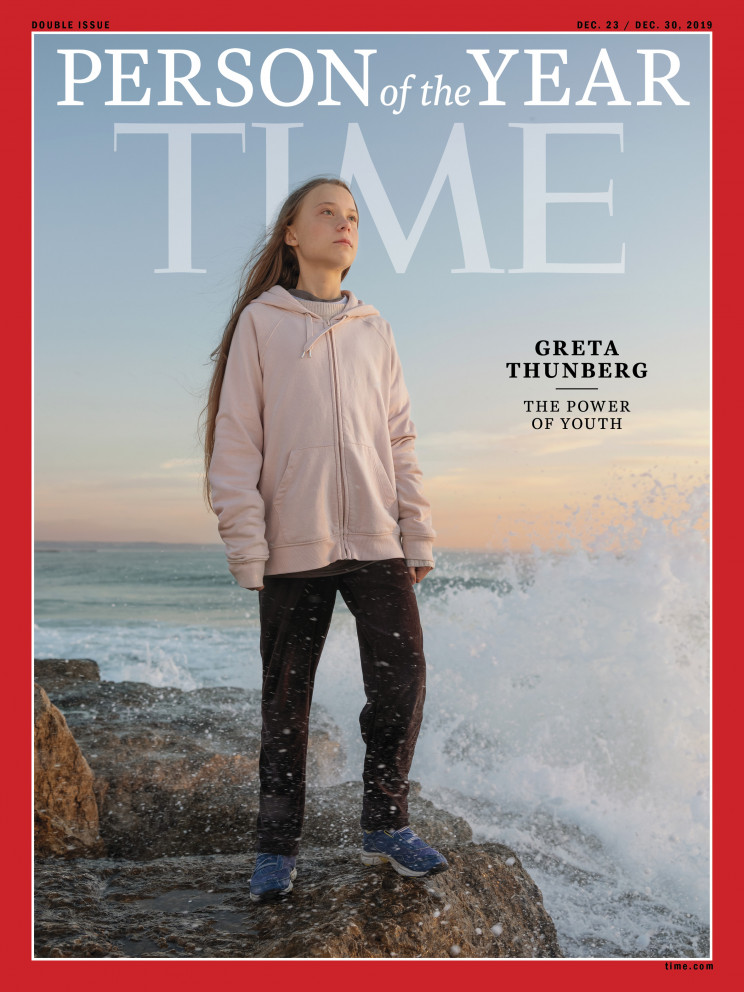 Time Person of the Year 2019 Greta Thunberg
