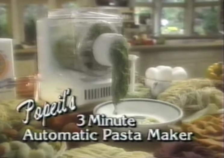 Popeil Automatic Pasta Maker