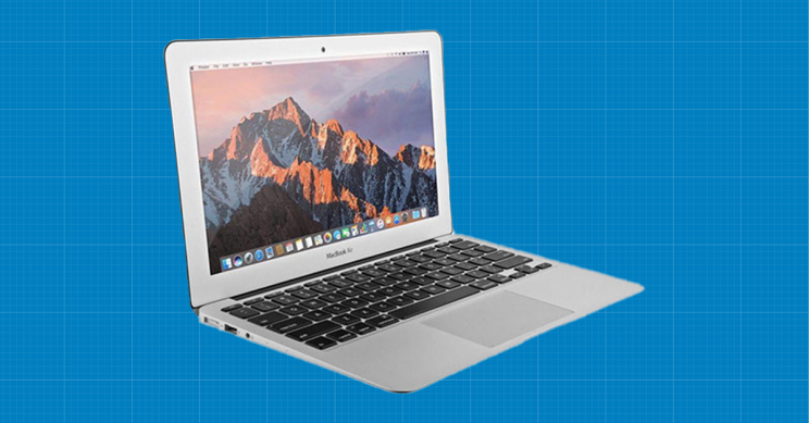 """This 13.3"""" Silver MacBook Air is Powerful, Portable, and Practical"""
