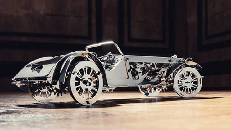 Build Your Very Own Metal Cabrio Vehicle