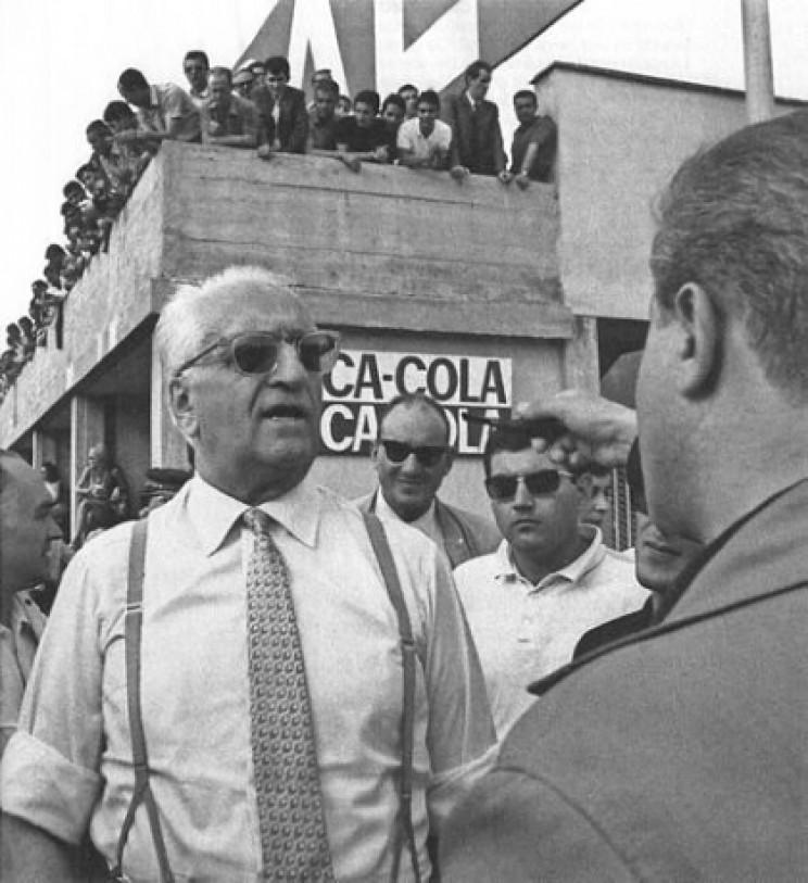 Enzo Ferrari in 1967
