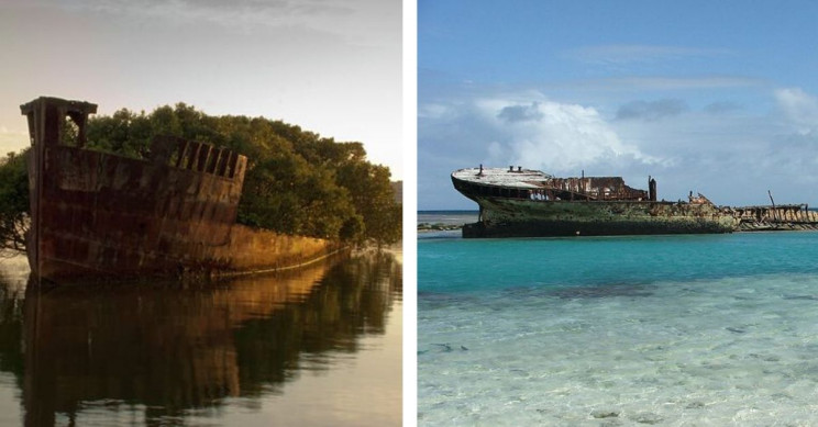 Top 5 Most Beautiful Wrecked Ships
