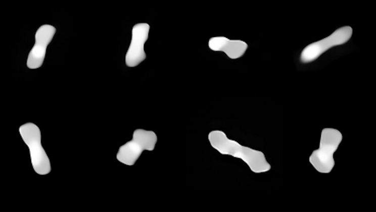 """New Images of the """"Dog Bone"""" Asteroid Show It May Soon Fall Apart"""