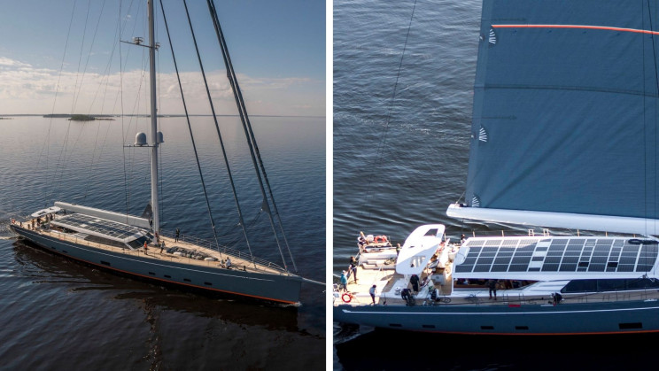 This 45-Meter Superyacht Has the Largest Solar Power System of Its Kind