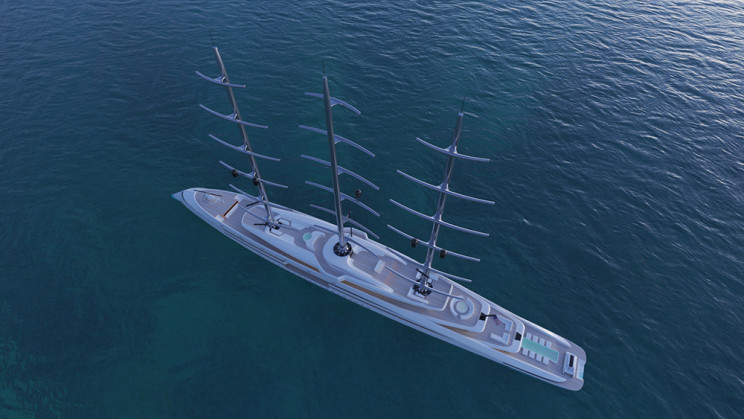 This Superyacht Can Cruise Emissions Free Thanks to Viking Age-Inspired Sails