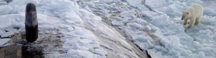 Sub under the ice