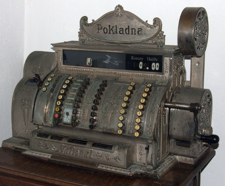 First cash register