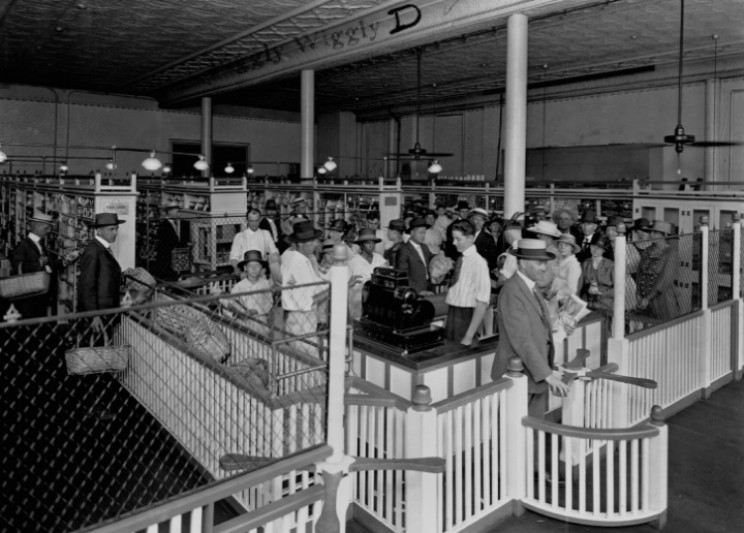 First Piggly Wiggly store