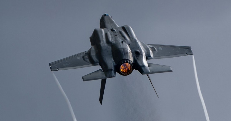 Royal Air Force Pledges to Run F35s on Household Waste and Alcohol