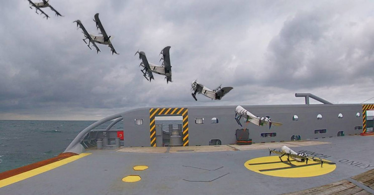 This Green Hydrogen VTOL Drone Can Fly for 3.5 Hours