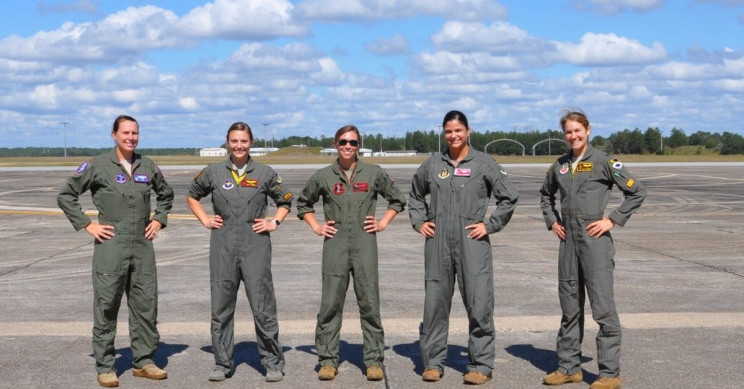 US Air Force Fighter Pilots Test New G-Suit for Women