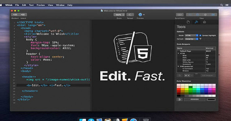 This HTML and PHP Editor Offers a Live Preview Page to Make Things Easier
