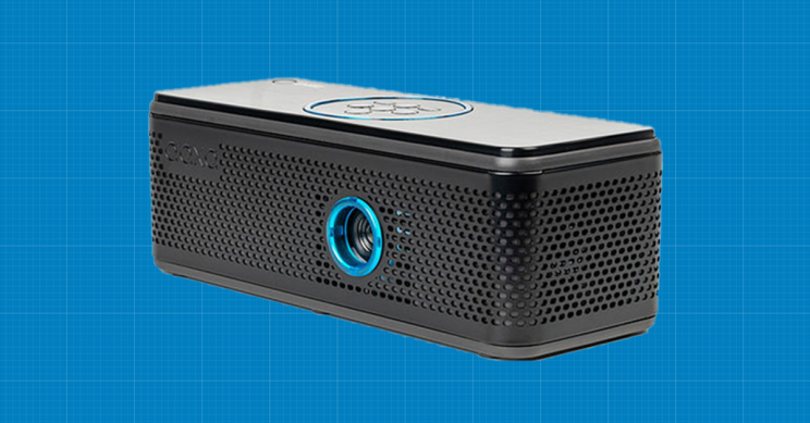 This Speaker and Projector In One Offers Vivid Images and Crisp Sound