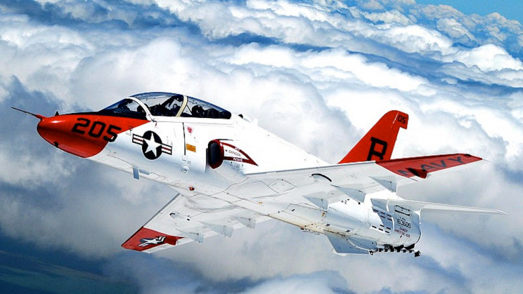 Two US Navy T-45 Goshawk Training Jets Collide Mid-Air
