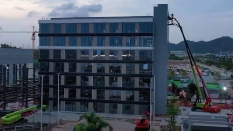 With Seven Floors in 12 Days, China Builds Hotel in Record Time