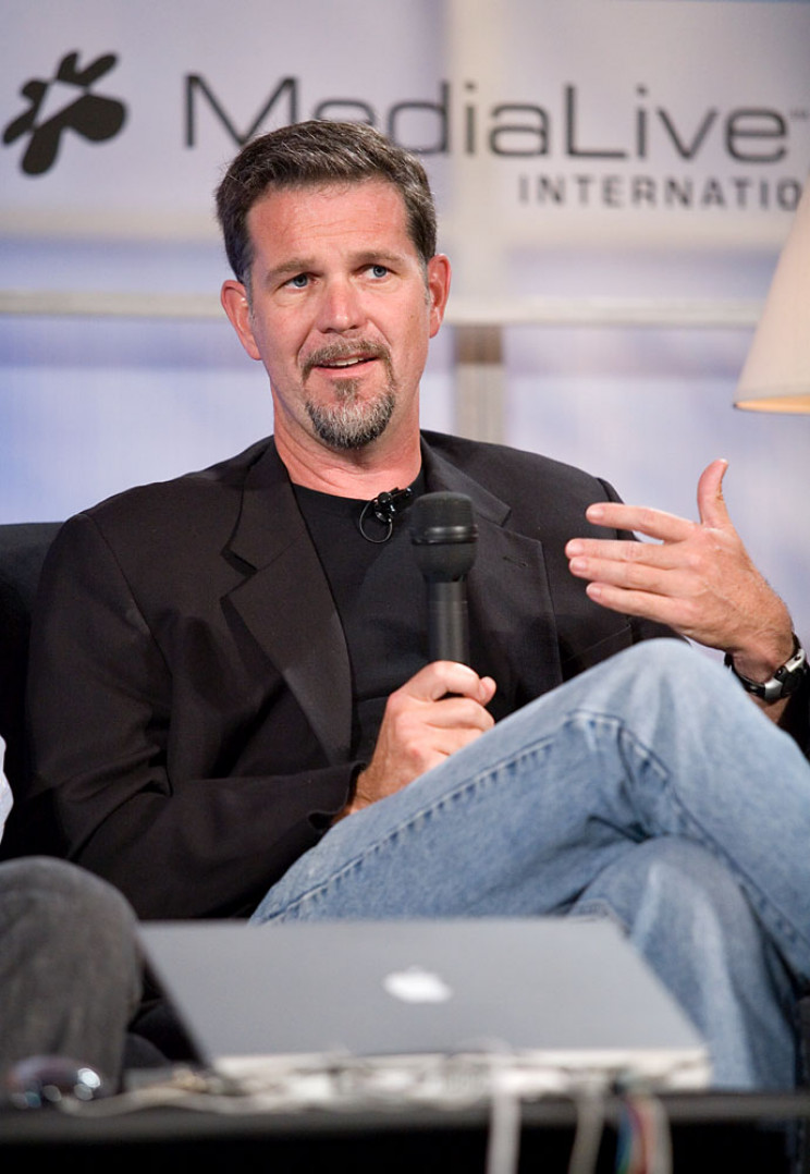 history of netflix reed hastings