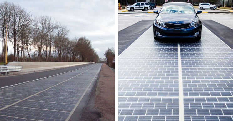 6 Examples of Solar Powered Roads That Could Be a Glimpse of the Future