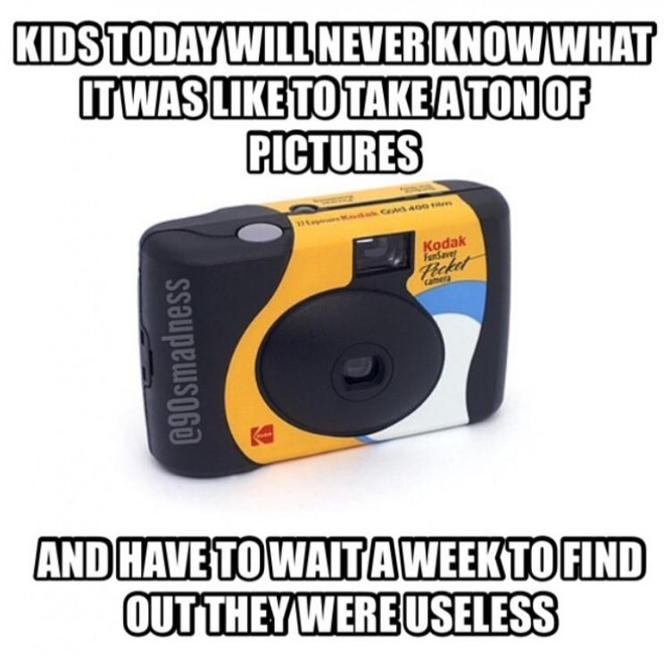 millenials tech gadgets cameras