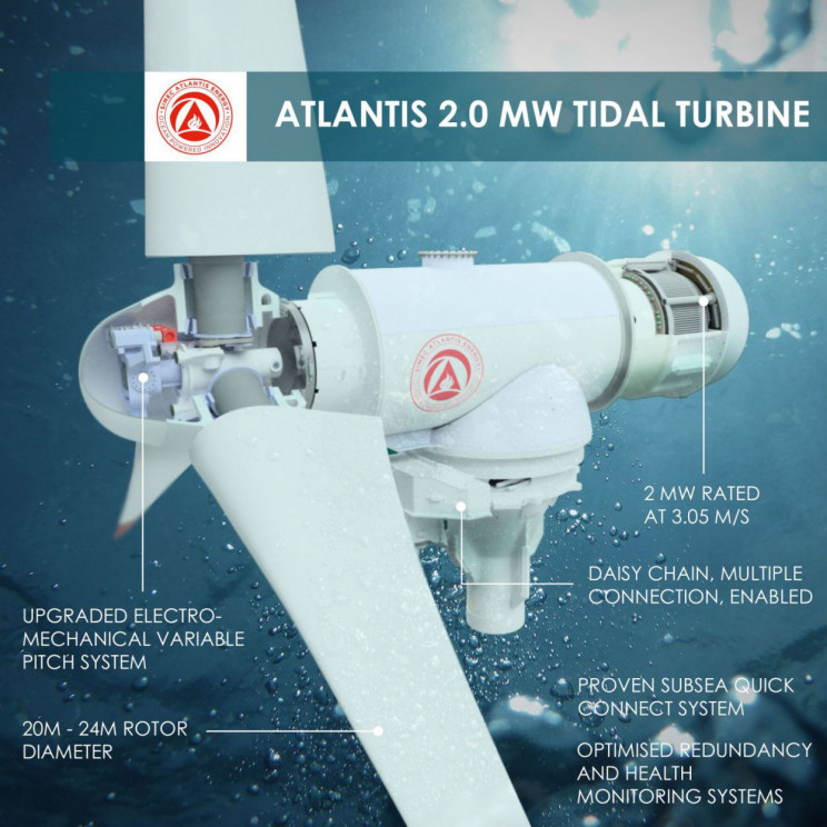 tidal turbines Atlantis AR2000