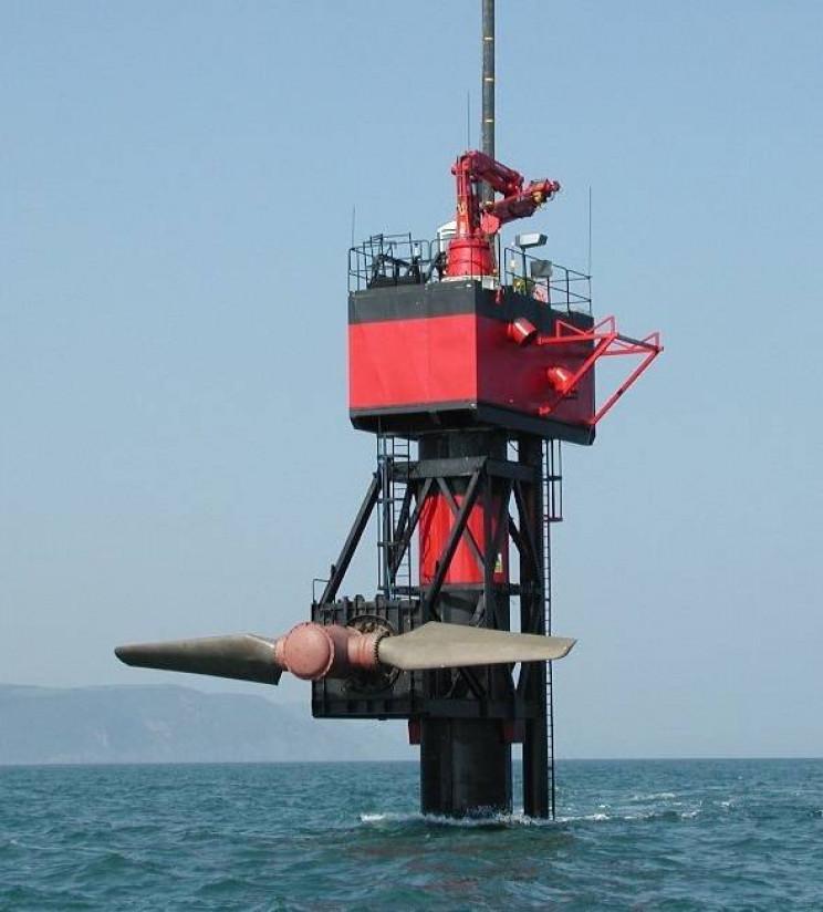 tidal turbines seaflow