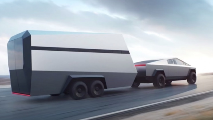 Elon Musk Says Cybertruck Will Power Off-Grid Tiny Houses and Campers