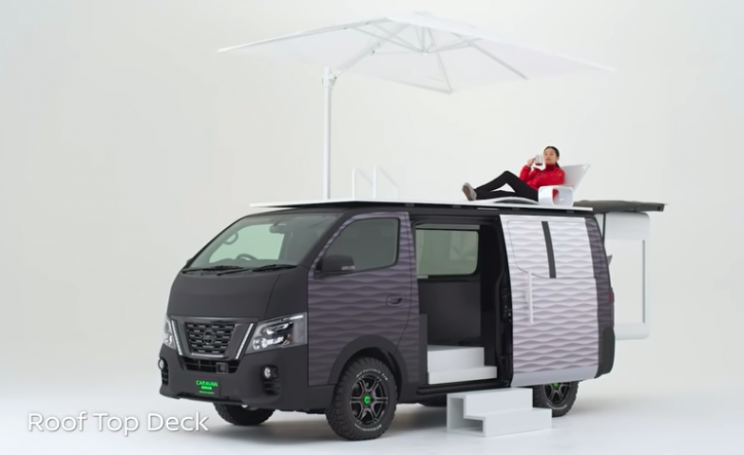 Nissan's New Pod Concept Turns Remote Working into a Dream