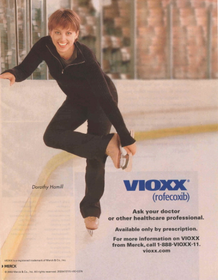 2002 Vioxx ad