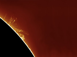Reddit User Captured A Tornado on Our Sun from His Backyard