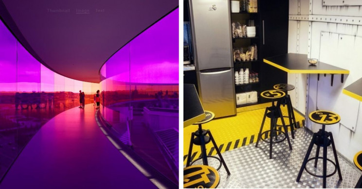 7 out of This World Spaceship-Themed Interiors and Furniture