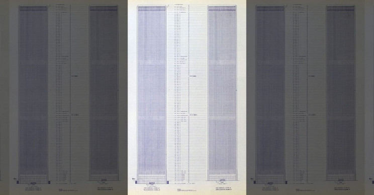 Original Blueprints of the World Trade Center on Sale in New York City for $250,000