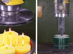9 Satisfying Hydraulic Press Crushing Stuff Videos