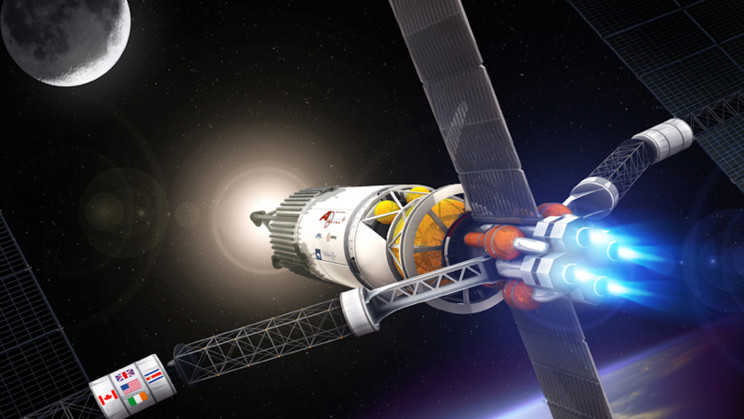 A 123,000 MPH Nuclear Rocket Could Reach Mars in Only One Month