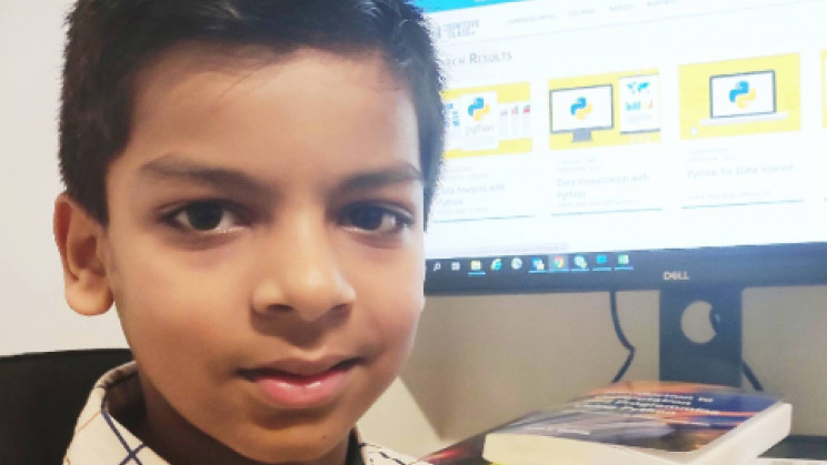 6-Year-Old Becomes the Youngest AI Programmer to Beat COVID-19 Boredom