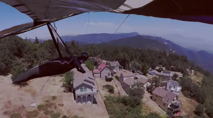 New Hang Gliding World Record Set by Piloting 222 Miles Out-and-Return
