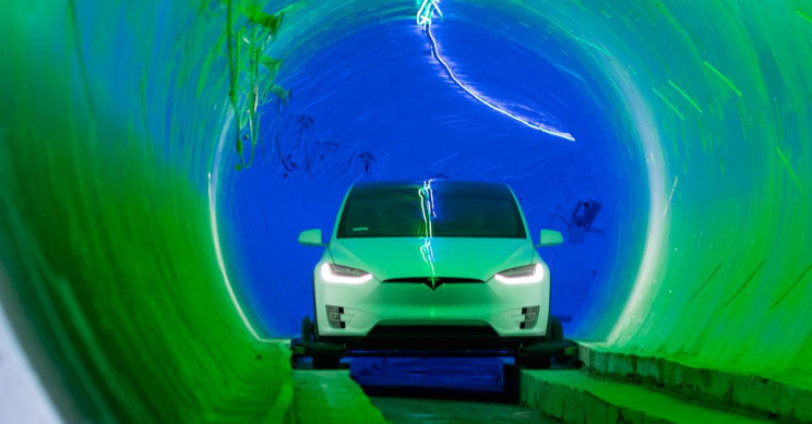 First Operational Boring Tunnel Under Vegas Almost Done, Elon Musk Announces